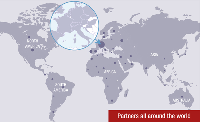 Partners all around the world